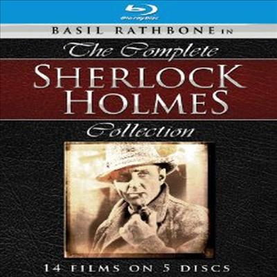 Sherlock Holmes: Complete Collection (셜록홈즈 시리즈) (한글무자막)(5Blu-ray) (1939)