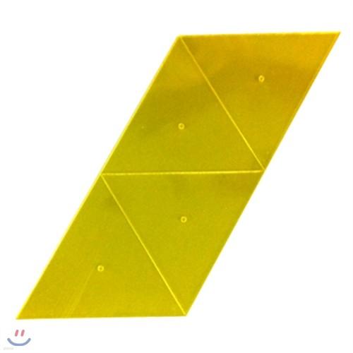 [수학준비물] 정사면체 전개도 10인용