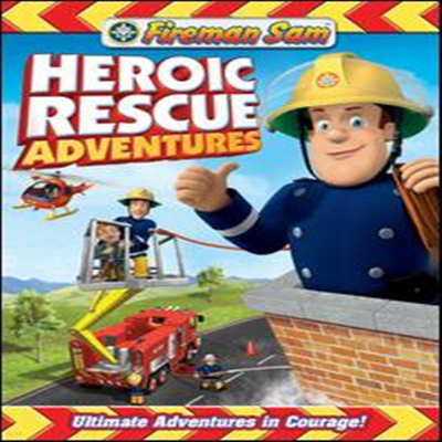 Fireman Sam: Heroic Rescue Adventures (소방관 샘 : 영웅 구출 모험) (지역코드1)(한글무자막)(DVD)(2012)