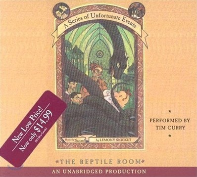 A Series of Unfortunate Events #2 The Reptile Room : Audio CD