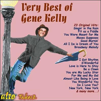 진 켈리 베스트 모음집 (Very Best of Gene Kelly)