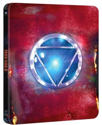 아이언맨3 (한정판 스틸케이스 콤보팩) : 블루레이