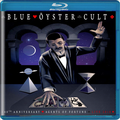 Blue Oyster Cult - 40th Anniversary - Agents Of Fortune - Live 2016 (Blu-ray)(2020)