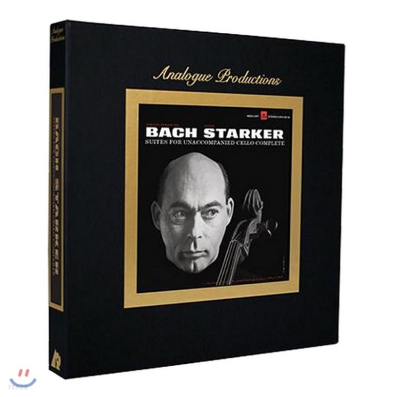 Janos Starker 바흐: 무반주 첼로 모음곡 전곡집 - 야노스 슈타커 (Bach: Suites For Unaccompanied Cello Complete) [6LP]
