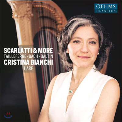 Cristina Bianchi 크리스티나 비안치 하프 연주집 - 스카를라티, CPE 바흐 외 (Scarlatti & More)