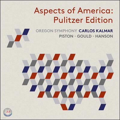 Carlos Kalmar 미국의 양상 - 퓰리처상 수상 작품 에디션 (Aspects of America - The Pulitzer Edition)
