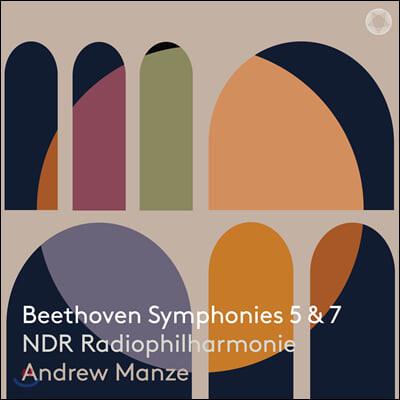 Andrew Manze 베토벤: 교향곡 5, 7번 (Beethoven Symphony Op. 67, 92)