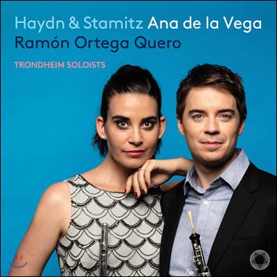 Ana de la Vega / Ramon Ortega Quero 하이든 / 슈타미츠: 플룻, 오보에와 오케스트라를 위한 협주곡 (Haydn & Stamitz)