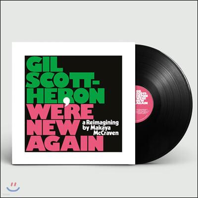 Gil Scott-Heron (질 스콧 헤론) - We're New Again: A Reimagining By Makaya McCraven [LP]