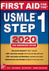 First Aid for the USMLE Step 1 2020, 30/E