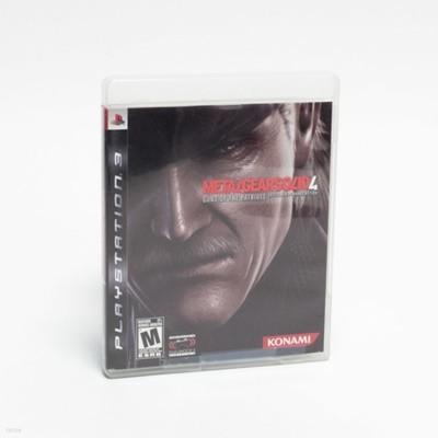 PS3 메탈 기어 소리드 4 영문판