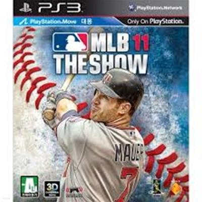 PS3 MLB 11 THE SHOW 아웃케이스와 케이스표지 없음