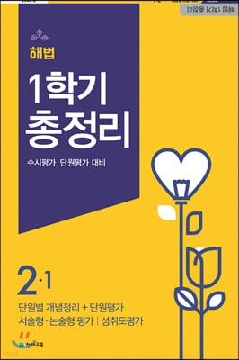 해법 1학기 총정리 2-1 (8절)(2020년)