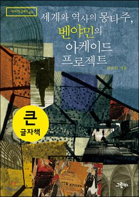 세계와 역사의 몽타주, 벤야민의 아케이드 프로젝트 (큰글자책)