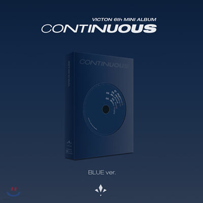 빅톤 (Victon) - 미니앨범 6집 : Continuous [BLUE Ver.]