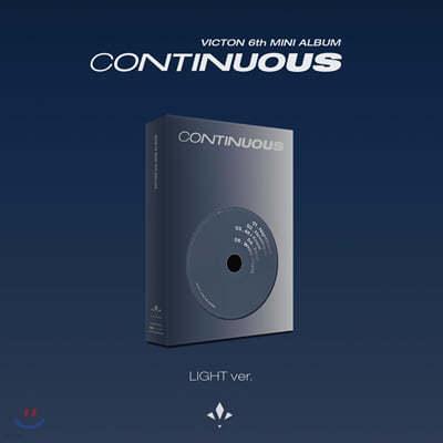 빅톤 (Victon) - 미니앨범 6집 : Continuous [LIGHT Ver.]