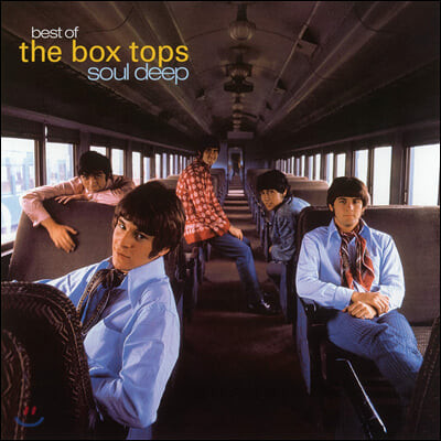 The Box Tops (박스 탑스) - Soul Deep: Best of The Box Tops [투명 옐로우 컬러 LP]