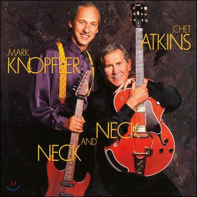 Chet Atkins & Mark Knopfler (쳇 애킨스 & 마크 노플러) - Neck and Neck [블루 컬러 LP]