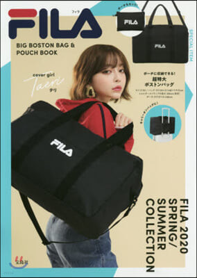 FILA BIG BOSTON BAG & POUCH BOOK