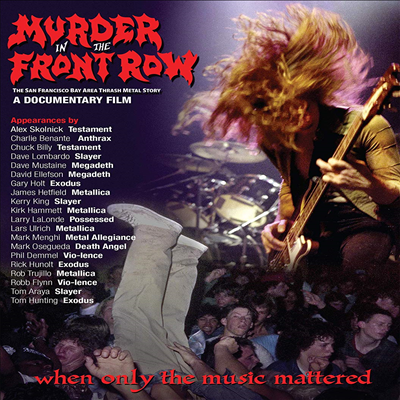 Various Artists - Murder In The Front Row: The San Francisco Bay (DVD)