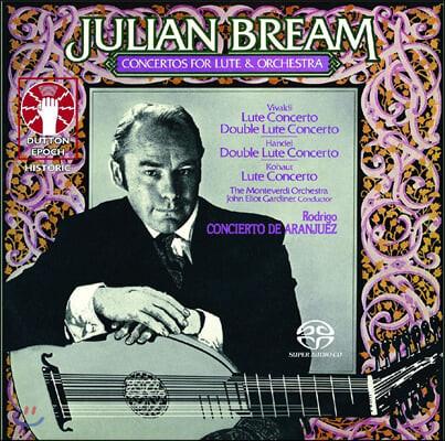 Julian Bream 비발디: 만돌린과 류트를 위한 협주곡 / 로드리고 : 아랑페즈 협주곡 외