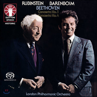 Artur Rubinstein 베토벤: 피아노 협주곡 3, 4번 (Beethoven: Piano Concertos Op. 37, 58)