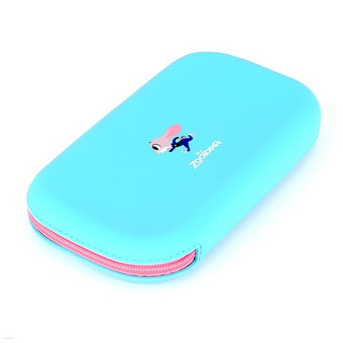 주디 포인트 실리콘 파우치 디즈니 민트 필통 DS0171