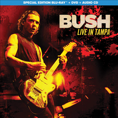 Bush - Live In Tampa (Blu-ray+DVD+CD)(Blu-ray)(2020)