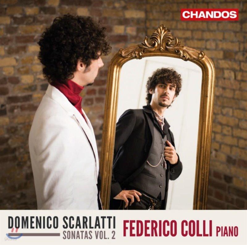 Federico Colli 스카를라티: 피아노 소나타 2집 (Scarlatti: Piano Sonatas, Vol. 2)