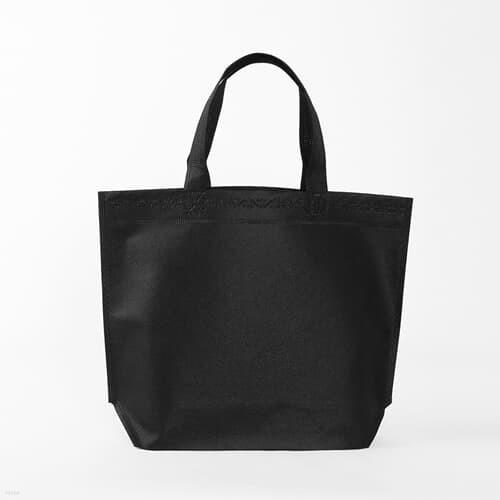 선물 답례 부직포가방 / 블랙 가로형 부직포쇼핑백
