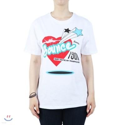 Bounce T-Shirts [화이트/라운드/20수]