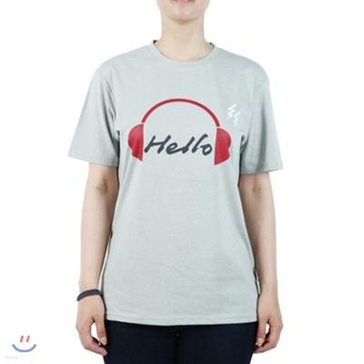 Headphone Green T-Shirts [그린/라운드/30수]