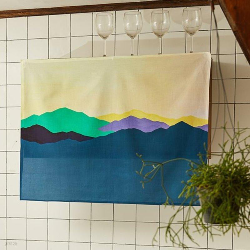 일상그림 패브릭포스터 '마음의 산'