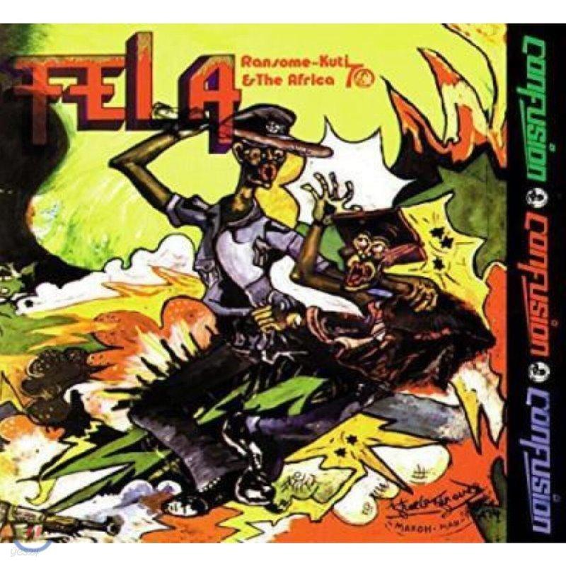 Fela Kuti (펠라 쿠티) - Confusion [LP]