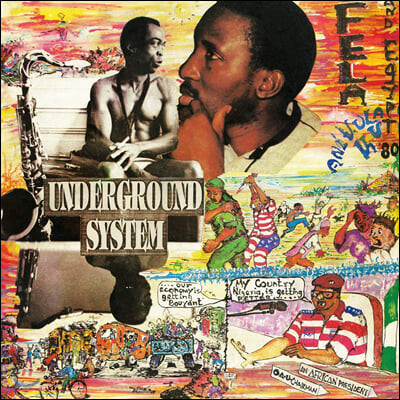 Fela Kuti (펠라 쿠티) - Underground System  [LP]