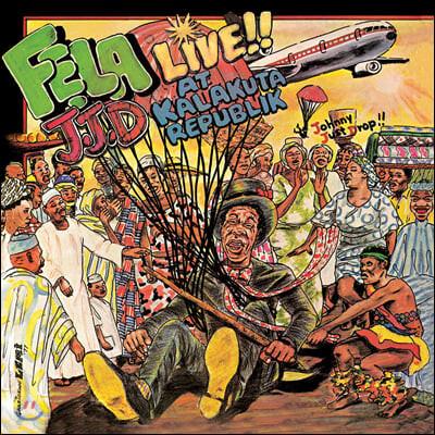 Fela Kuti (펠라 쿠티) - Johnny Just Drop (J.J.D.) [LP]