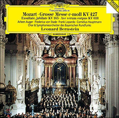 Leonard Bernstein 모차르트: 미사, 아베 베룸 코르푸스, 엑술타테, 유빌라테