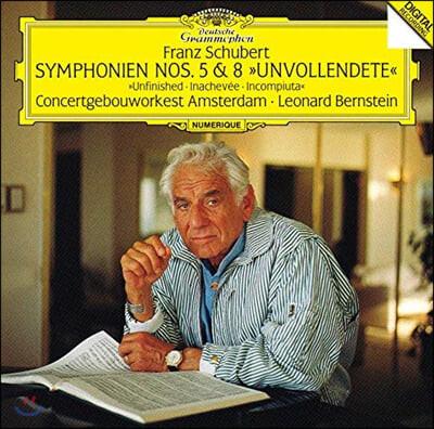 Leonard Bernstein 슈베르트: 교향곡 5, 8번 (Schubert: Symphonies D759, 485)