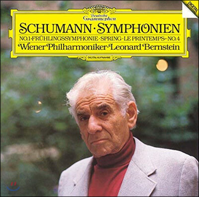 Leonard Bernstein 슈만: 교향곡 1, 4번 (Schumann: Symphony Op. 38, 120)