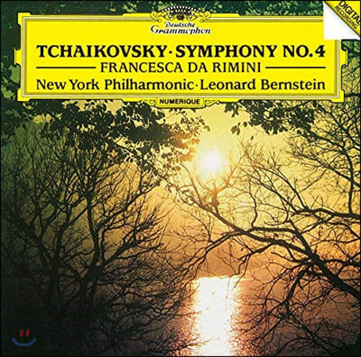 Leonard Bernstein 차이코프스키: 교향곡 4번, 프란체스카 다 리미니 (Tchaikovsky: Symphony Op. 36, Francesca Da Rimini)