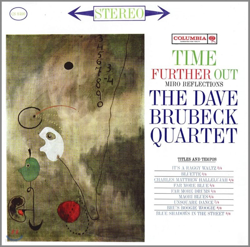 The Dave Brubeck Quartet (데이브 브루벡 쿼텟) - Time Further Out [LP]