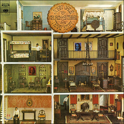John Cale & Terry Riley (존 케일 & 테리 라일리) - Church of Anthrax [LP]