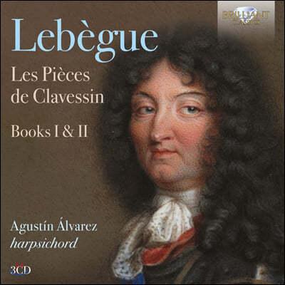 Agustin Alvarez 니콜라 리베그: 하프시코드 작품집 1·2권 (Nicolas Lebegue: Les Pieces de Clavessin, Books I, II)