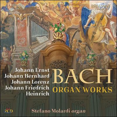 Stefano Molardi 바흐 가문 작곡가 5인 - 오르간 독주곡 모음 (Bach Family - Organ Works)