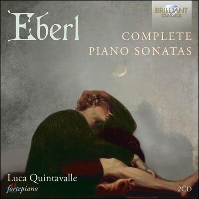 Luca Quintavalle 안톤 이벌: 피아노 소나타 7곡 (Anton Eberl: Complete Piano Sonatas)