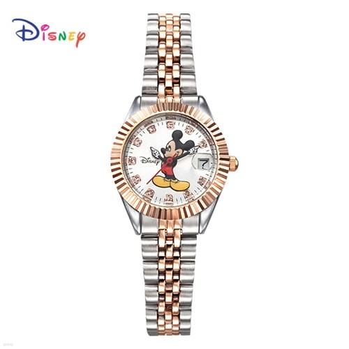 Disney 디즈니 메탈 여성시계 OW-619DR