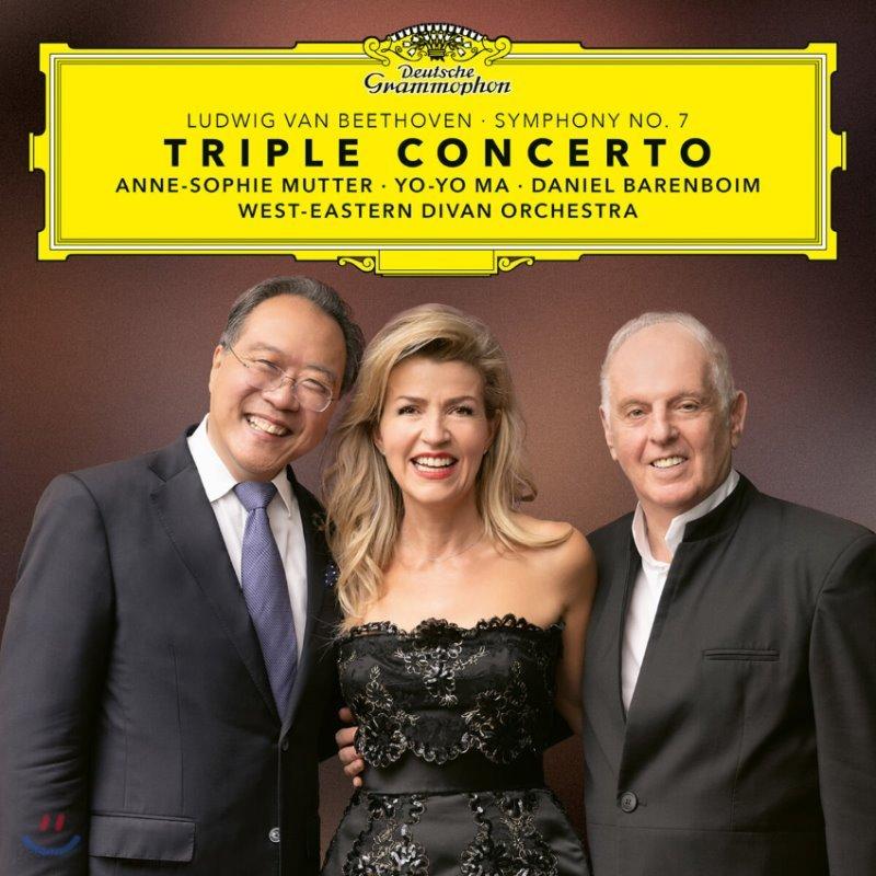 Daniel Barenboim / Anne-Sophie Mutter / Yo-Yo Ma 베토벤: 3중 협주곡, 교향곡 7번