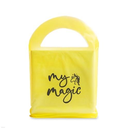 유니콘 손잡이 비닐쇼핑백 (10개)