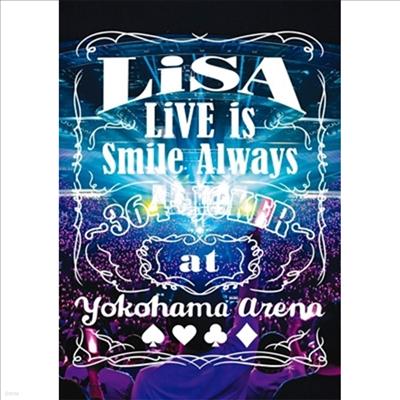 Lisa (리사) - Live Is Smile Always~364+Joker~At Yokohama Arena (지역코드2)(2DVD)
