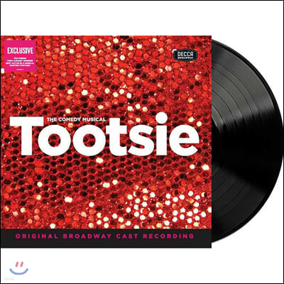 투씨 뮤지컬 음악 (Tootsie The Comedy Musical OST Original Broadway Cast Recording) [2LP]